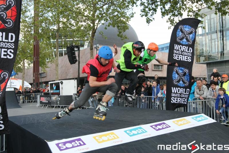 Skate Cross roller freestyle