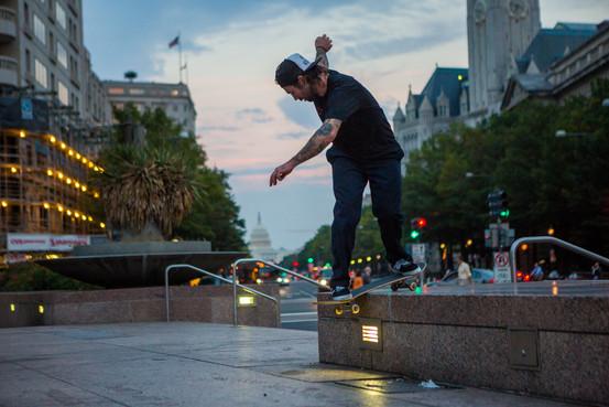 Skateboard street