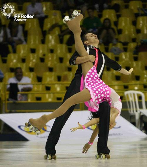 roller artistique danse